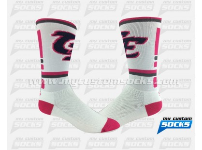 Clovis East - white/fuchsia