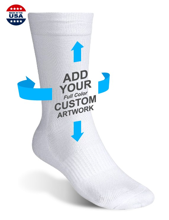 Custom basketball socks