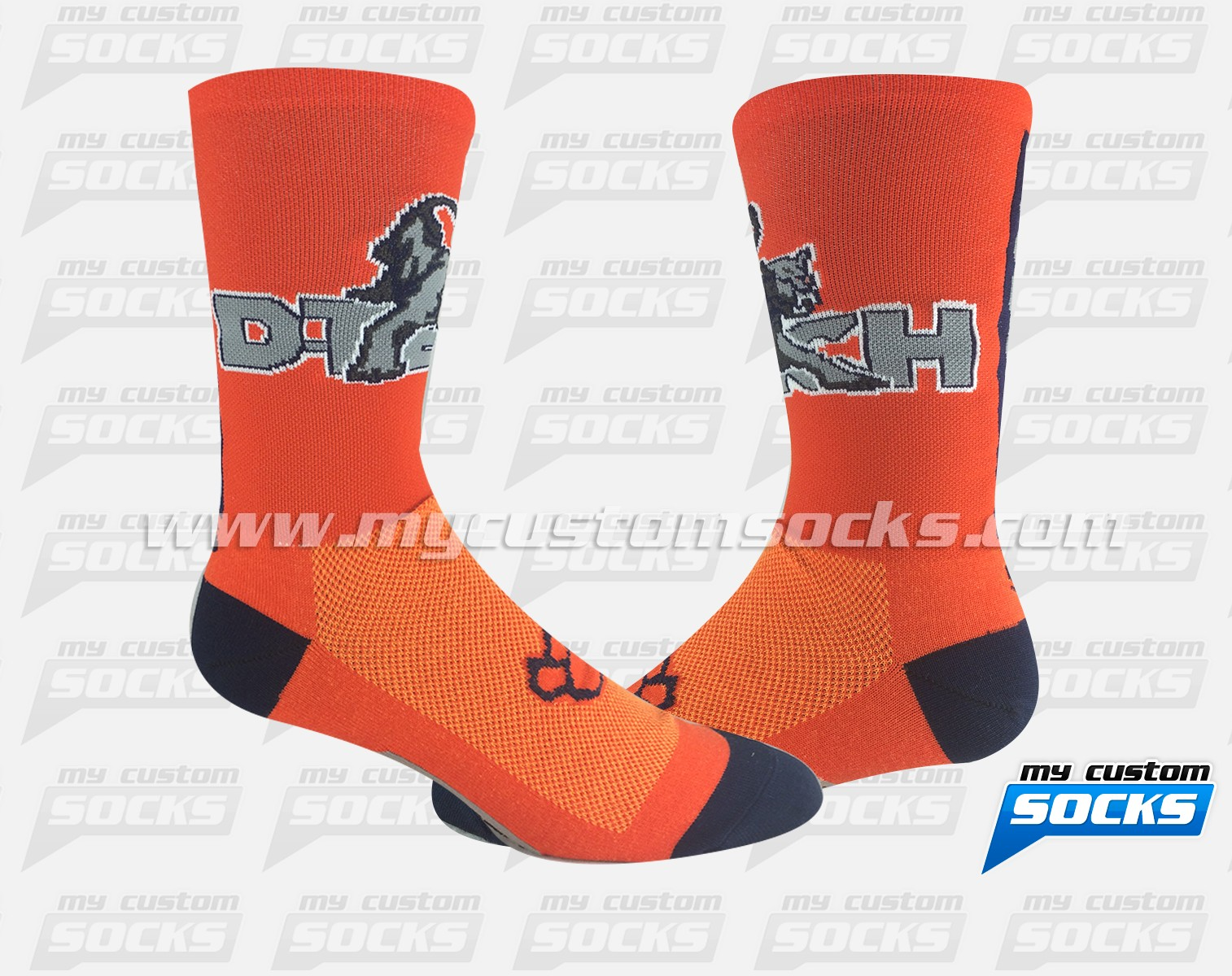 D-Tech Cougars in Orange