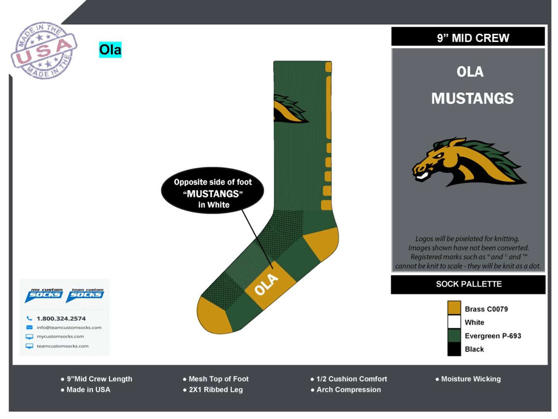 Score Sports - Ola Mustangs