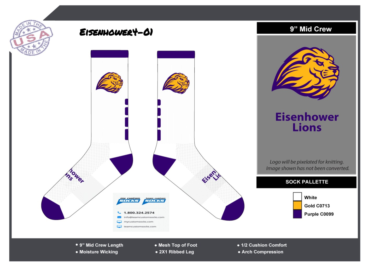 Eisenhower Lions